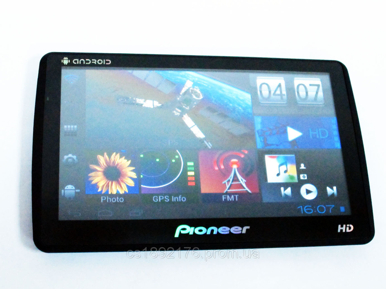 GPS Pioneer PI 9991 HD Android 4.0.4 + WiFi + 8Gb