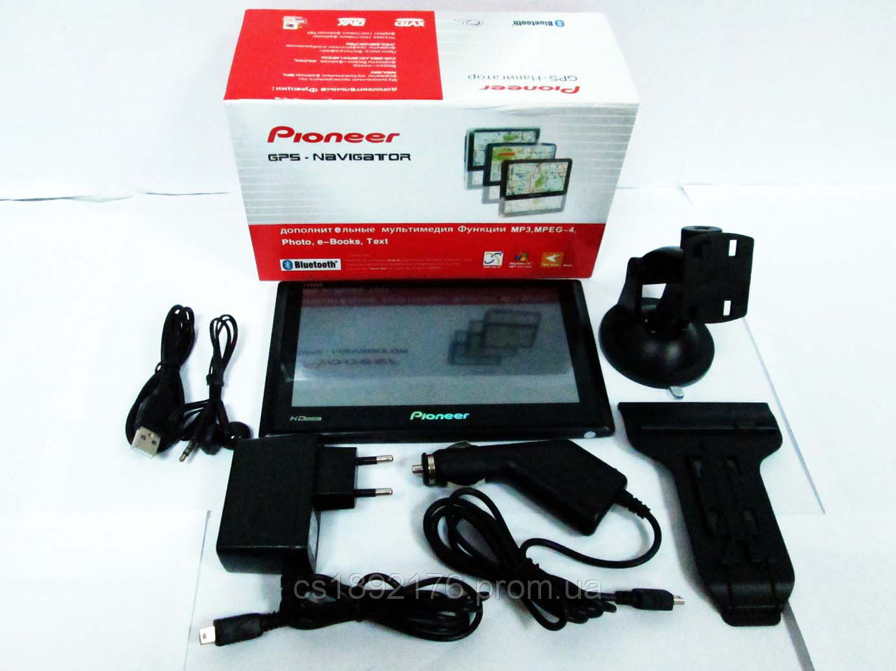 "7"" GPS Pioneer PI-9989HD Android+WiFi+8Gb"