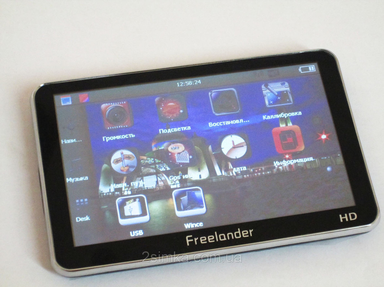"5"" GPS навигатор Freelander 5033 HD+4Gb встроенная память!!"