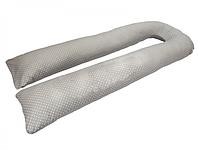 Подушка для беременных KIDIGO U-образная Горошек (с наволочкой)