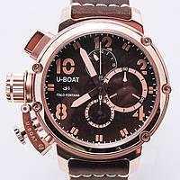 "Часы U-BOAT ""Chimera Bronze""хронограф.кл.ААА"