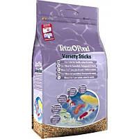 Tetra Pond Vаriety Sticks корм микс для прудовых рыб в палочках, 25 л, фото 1