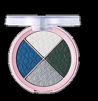 Четырехцветные тени 'PRETTY COOL BLUES 004, 8 г (2732064)