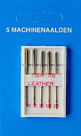 Иглы для кожи машинные №80-100, Германия, набор 5 шт.