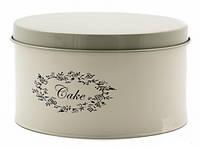 """Круглый контейнер для продуктов """"Cake"""" (12х22 см.), фото 1"""