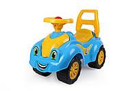 Автомобиль каталка голубая для прогулок ТехноК 3510