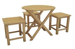 Раскладной круглый стол Регина, фото 2