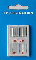 Иглы универсальные машинные №90, Германия, набор 5 шт.