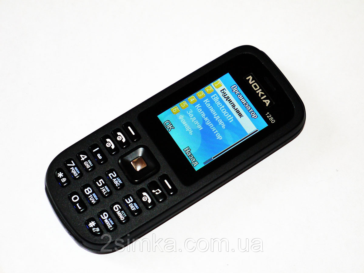"Телефон Nokia 1280 - 2sim - 2"" - Fm - Bt  Camera"