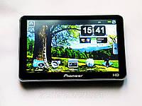 "GPS навигатор 5"" Pioneer HD - 4Gb+Fm, фото 1"