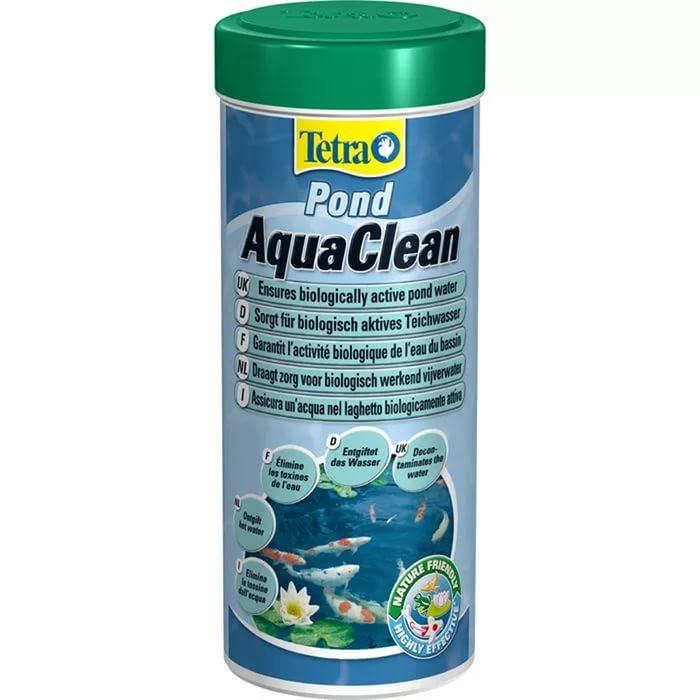 Tetra Pond AquaClean средство для очищения воды, порошок, 300 мл - Интернет-зоомагазин Royal Zoo в Харькове