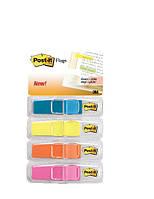 Набор узких закладок в индивидуальных контейнерах. Ширина 12 мм, 4 цвета, по 24 шт. каждого