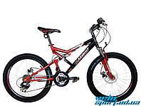 """Горный подростковый велосипед Azimut Scorpion 24"""" GD"""