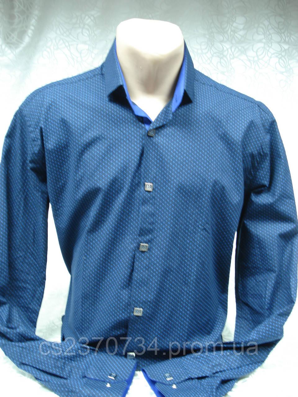 Рубашка мужская ,приталенная  Antoni Rossi(батал)5XL