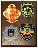 Гербы на металле