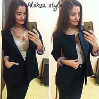 Женский стильный пиджак o-5204358