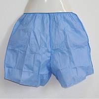 Трусы-шорты для гидроколонотерапии с ректальным отверстием, SMMS SOFT синий, Doily