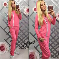 Молодежный женский спортивный костюм в расцветках m-035198