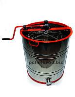 Медогонка 4-х рамочная Поворотная Нержавеющая бочка кассеты и ротор