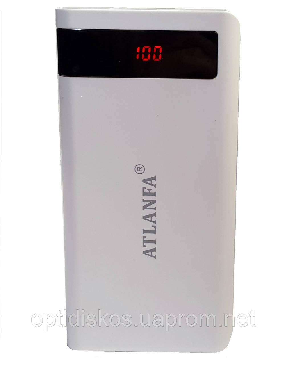 Универсальная батарея Atlanfa Elite AT-2022, 20000mAh, 2 USB