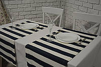 Набор 2 шт Раннер (дорожка) тефлон Полоска 40*150 см