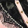 Женская блузка из гипюра с камнями SWAROVSKI, 2 цвета. Ф-23-0317 , фото 3