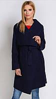 Модный темно-синий кардиган, длины до колен. Производитель Польша