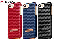 Чехол для iPhone 7 - HOCO Platinum series CARBON, разные цвета