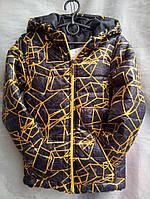 Детская Куртка весенняя узор