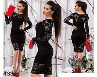 Женское кружевное платье Кларнет НОРМА