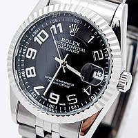 Часы Rolex* date just *Silver*механика