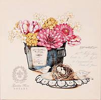 Схема для вышивания бисером Цветы