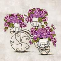 Схема для вышивания бисером Феерия цветов-2