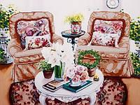 Схема для вышивания бисером Домашний уют