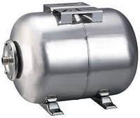 Гидроаккумулятор горизонтальный 24 л нержавеющий Aquatica