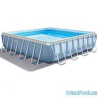 Каркасный бассейн (488х488х122см) 28766 Intex