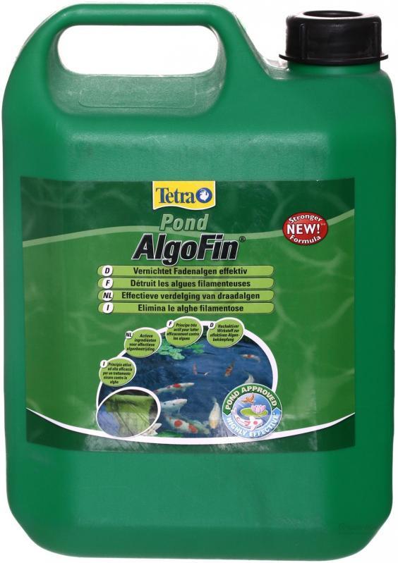 Tetra Pond AlgoFin средство для удаления нитевидных водорослей в пруду, 3 л - Интернет-зоомагазин Royal Zoo в Харькове