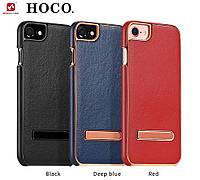 Чехол для iPhone 7 - HOCO Platinum series litchi grain, разные цвета