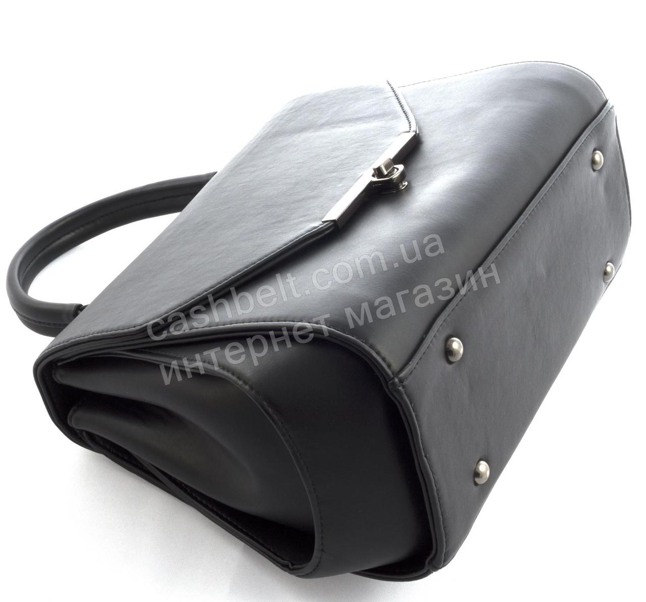 ... Стильная каркасная оригинальная женская сумка саквояж среднего размера  art. 809b8175820
