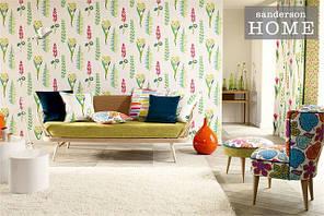Papavera Wallpapers by Sanderson (Великобритания)