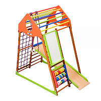 Детский спортивный комплекс для дома SportBaby KindWood Plus, фото 1