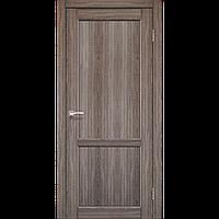 Дверь PALERMO  PL-01. Исполнение: глухое (дуб грей, дуб беленый, орех). KORFAD (КОРФАД)