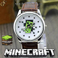 """Годинник Minecraft - """"Minecraft Creeper"""", фото 1"""