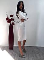 Женский костюм с юбкой о-1410345