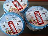 Набор жестяных коробка для хранения Лондон