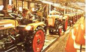 1962 Взято направление на улучшение состояния окружающей среды.  Начало производство тракторов для рисового поля.