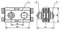 Зажим соединительный - КС-055-2 (КС-325-1)