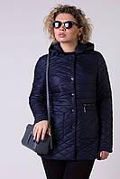 Женская куртка пиджак батал DAMADER №771, фото 1