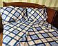Двуспальный комплект с евро простынью Классик, фото 4