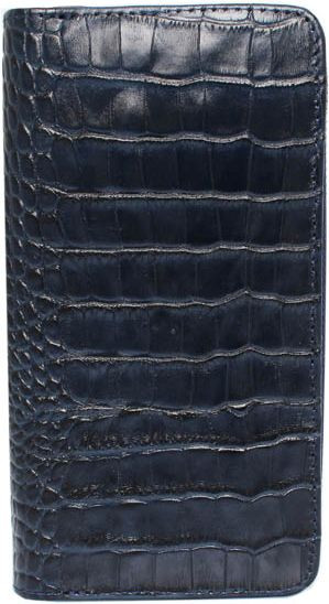Женский функциональный кошелек из натуральной кожи Mykhail Ikhtyar (МИХАИЛ ИХТЯР) 6708 синий